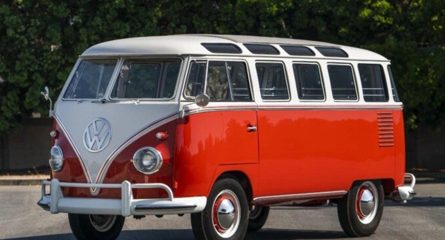 Volkswagen планирует возродить микроавтобус Samba Автомобили