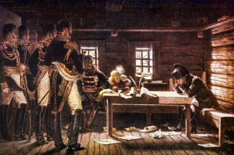 Русская армия в сражениях у Тарутино и под Малоярославцем история