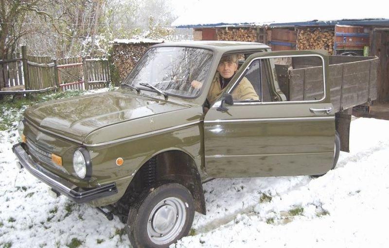 Автолюбитель создал уникальный пикап, использовав кузов от «Запорожца»