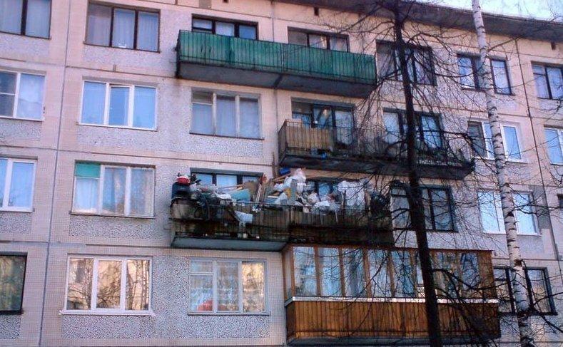 Не хватает места для всех вещей? А как же балкон?! в тесноте, квартир, квартиры, малогабаритка, малогабаритки, студия, тесно