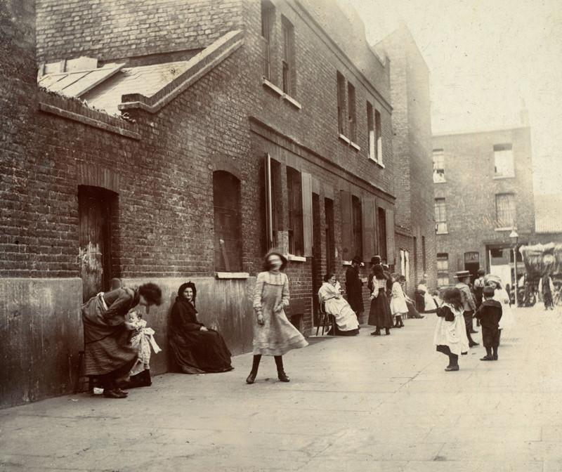 Лондон, 1902 г. Праздничный день в Уайтчепеле джек лондон, история, фото