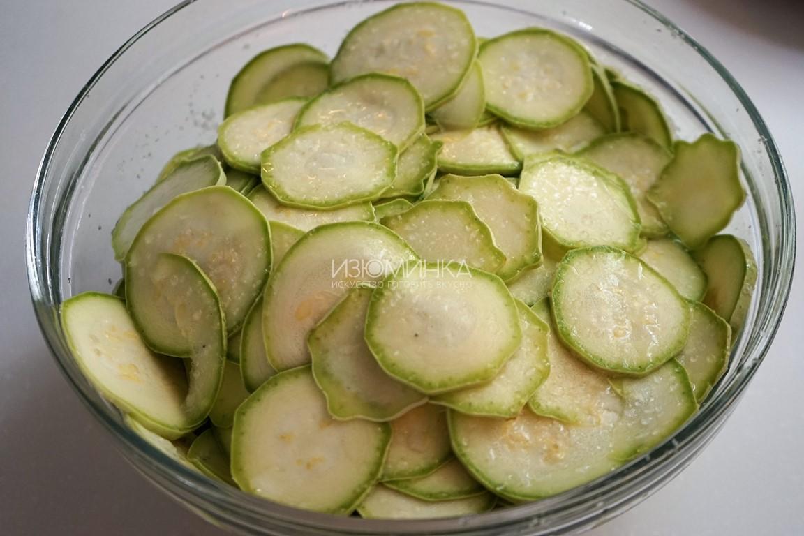 Маринованные кабачки быстрого приготовления Закуски,салаты