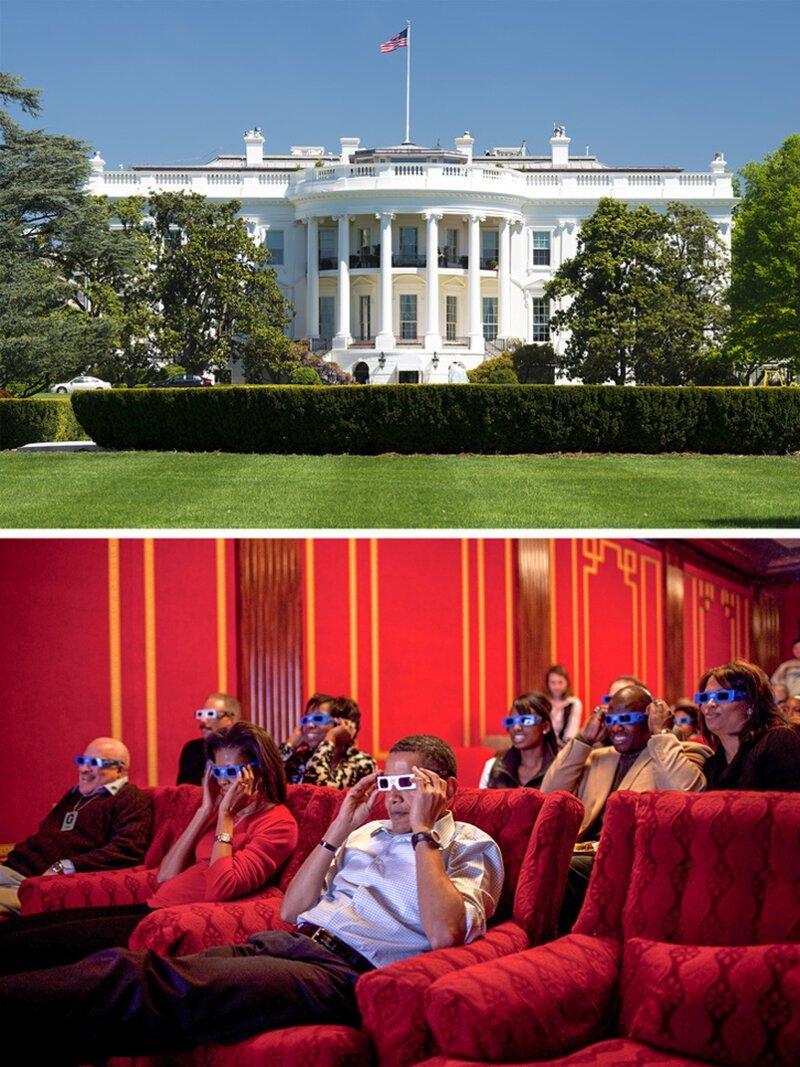 Большинство помещений Белого дома достопримечательности, тайны, это интересно