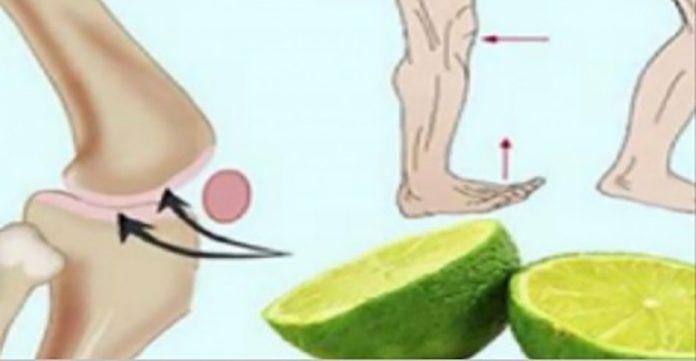 После использования этого лимонного рецепта, вы попрощаетесь с болью в суставах и спине