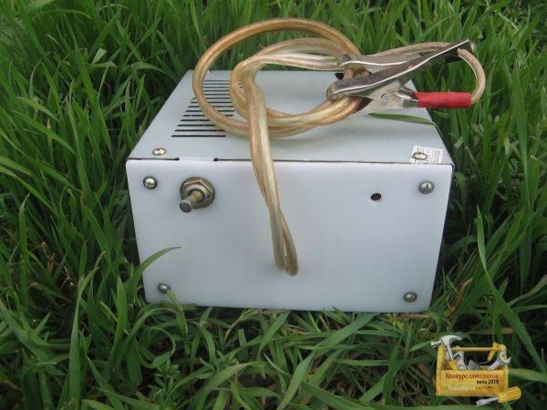 Зарядное устройство для автомобильных аккумуляторов из компьютерного блока питания
