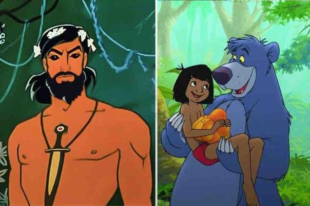 Два Маугли. Два мира. Две нации