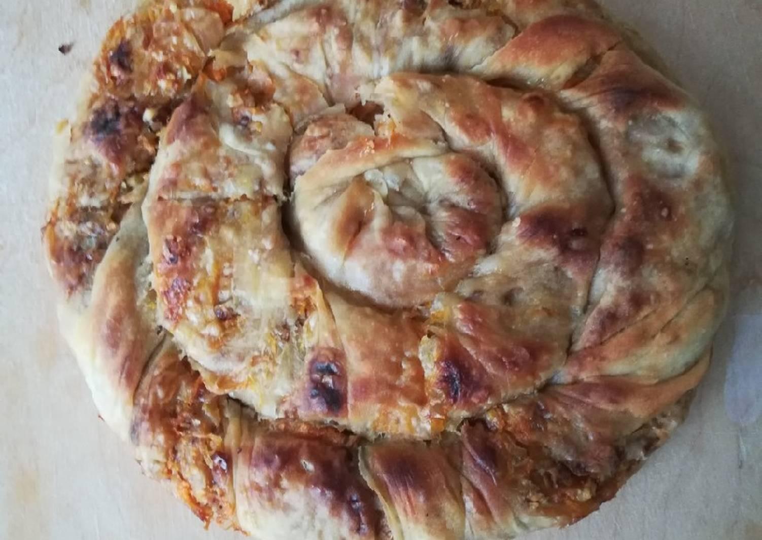 Бурма - аппетитный татарский пирог