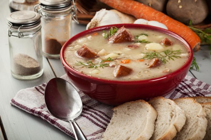 мучной суп