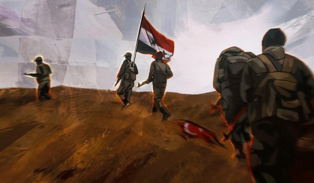 Сирийская армия готовится к броску на Идлиб Идлиб,Сирия,Турция