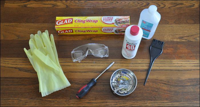 Главный ингредиент – окислитель для окрашивания волос.
