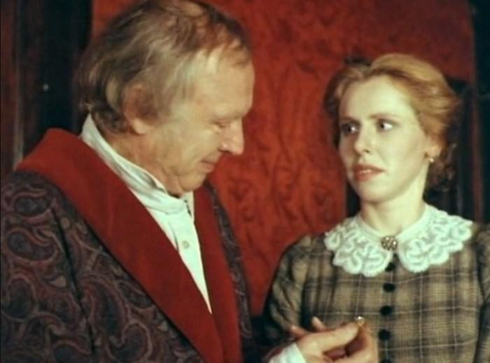Иннокентий и Мария Смоктуновские, кадр из фильма «Дело». / Фото: www.kino-teatr.ru