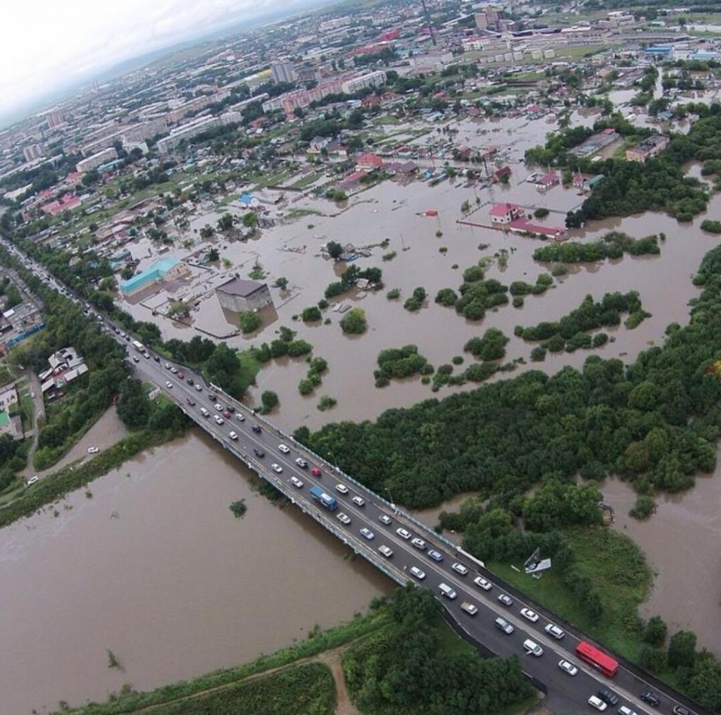 ЕР собирает помощь пострадавшим от наводнения в Приморье