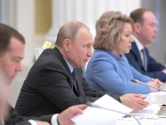 Путин жестко раскритиковал правительство: «Людям не интересны абстрактные обещания» заседание,Медведев,общество,правительство,Путин,россияне,экономика