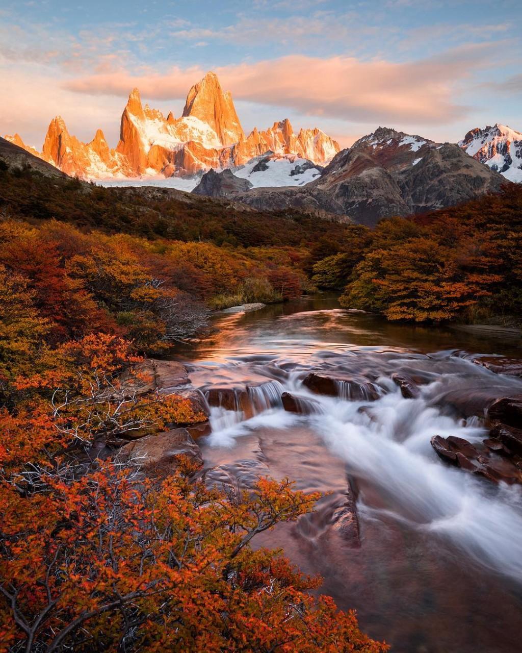 Красивые горные пейзажи от Тэйлор Бурк