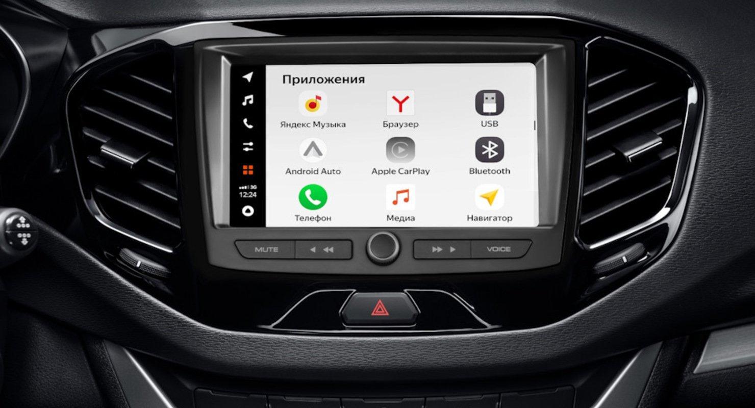 LADA VESTA получила новую мкльтимедийную систему EnjoY Автомобили