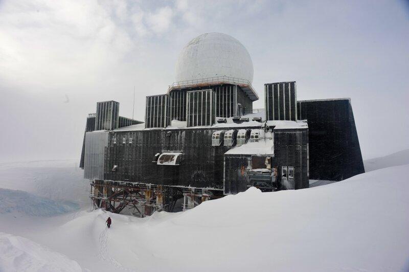 Заброшенная радарная станция гренландия, подборка, природа, путешествия, север, удивительное