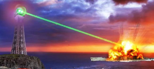 Боевой лазер русских постраш…
