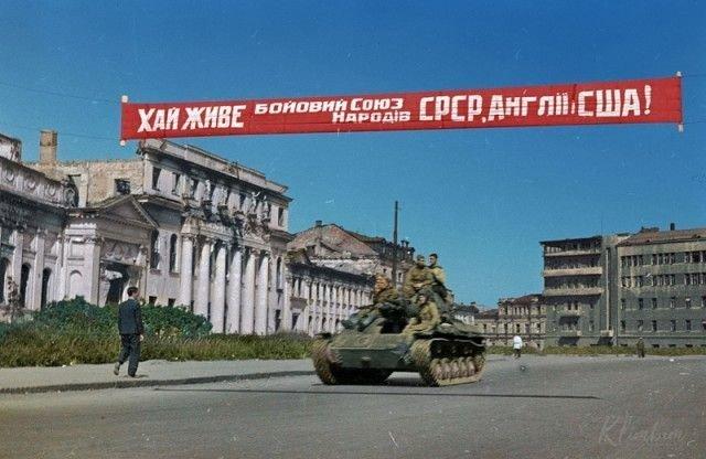 """""""Ожившие"""" фото времен Великой Отечественной войны"""