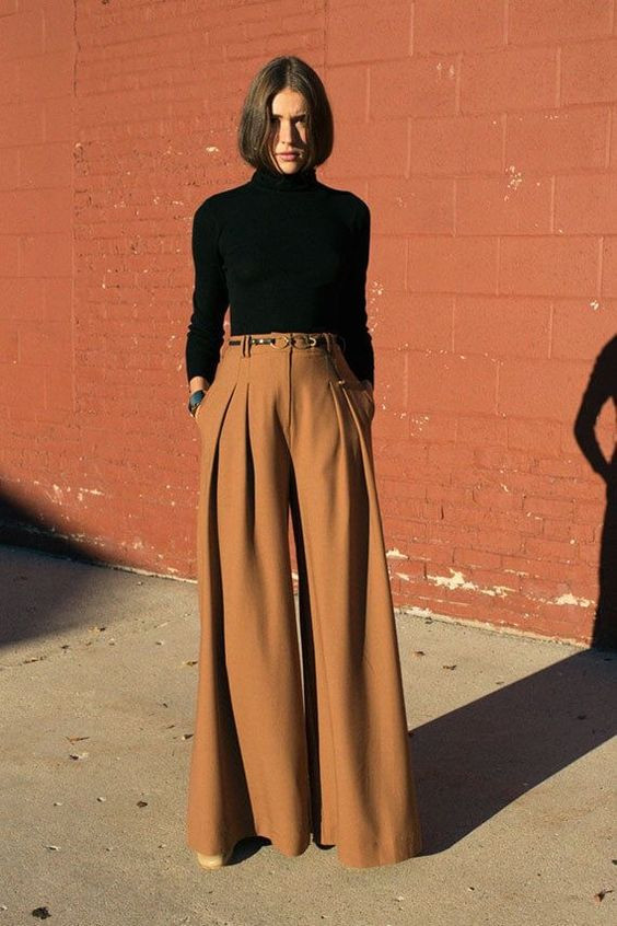 брюки палаццо фото