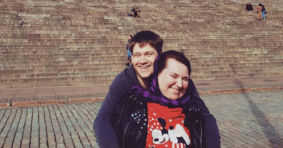 У меня и у моего мужа инвалидность — вот как мы поженились жизнь,люди,общество,отношения