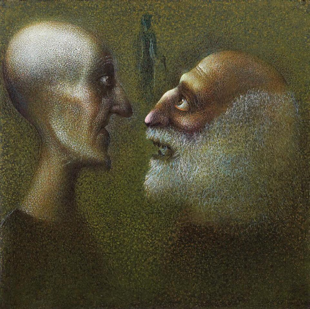 Самобытный грузинский художник Гиви Сипрошвили живопись