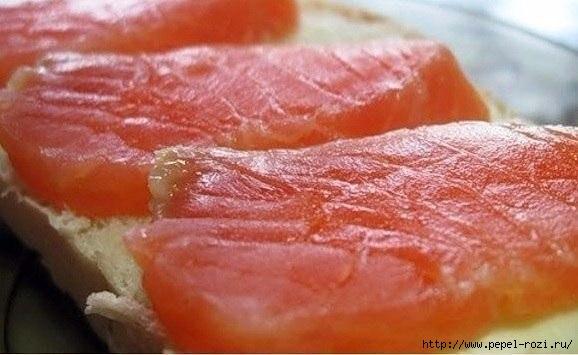 Красная рыба засоленная в ...морозилке - необычный рецепт приготовления
