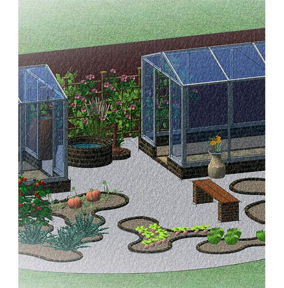 Огород может быть красивым