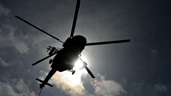 На Камчатке в озеро упал вертолёт с туристами