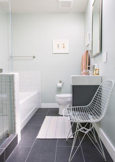 Современный Ванная комната by Nanette Wong