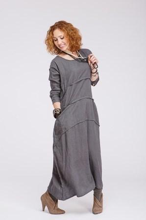 Платье бохо с рукавами - легко