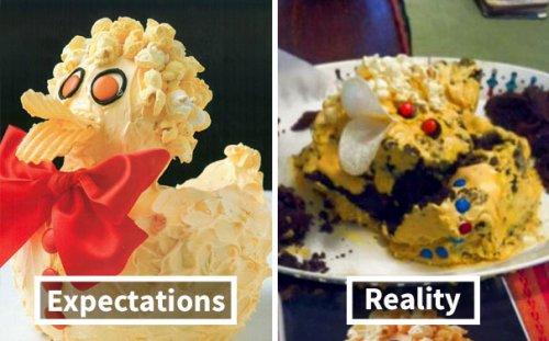 Ожидания vs. реальность: кулинарные фейлы