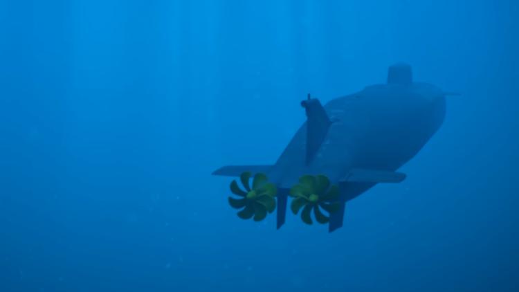 Подводный беспилотник «Посей…