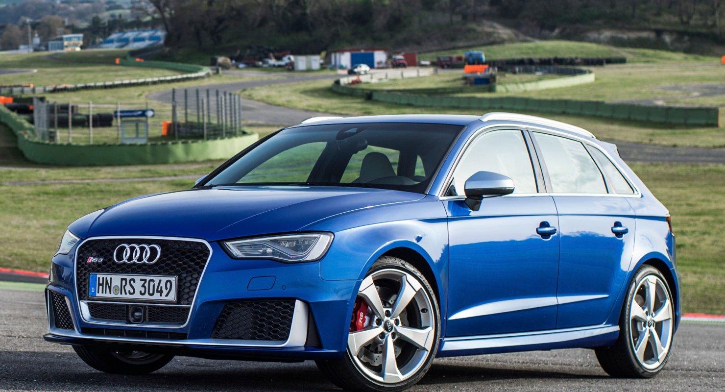 Самый быстрый «хот-хэтч» в мире — Audi RS 3 Sportback Автомобили