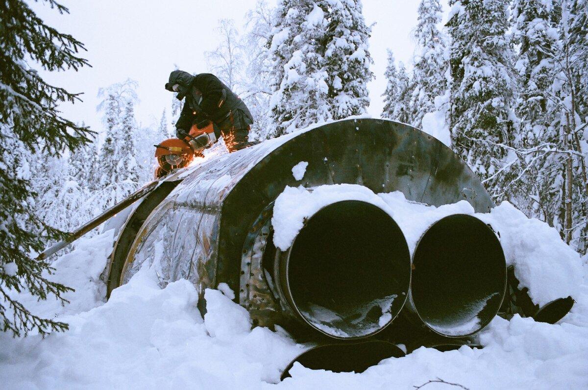 Охота за ракетным металлом в архангельских лесах