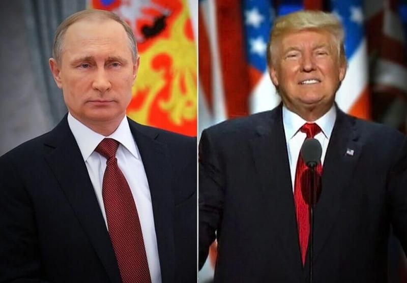 Трамп поздравил Путин с пере…