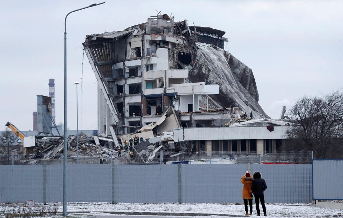Власти Петербурга оказались не в курсе, кто демонтировал СКК власть,демонтаж,обрушение,общество,питер,россияне,СКК