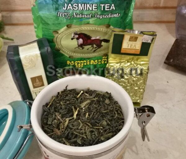 Зеленый чай как антиоксидант