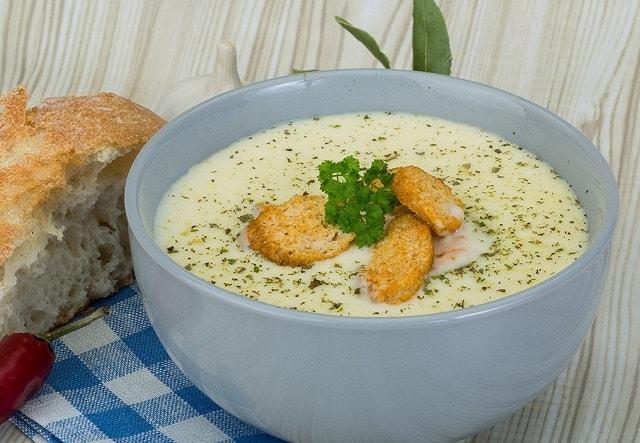 Суп с плавленным сырком - идеальный вкус