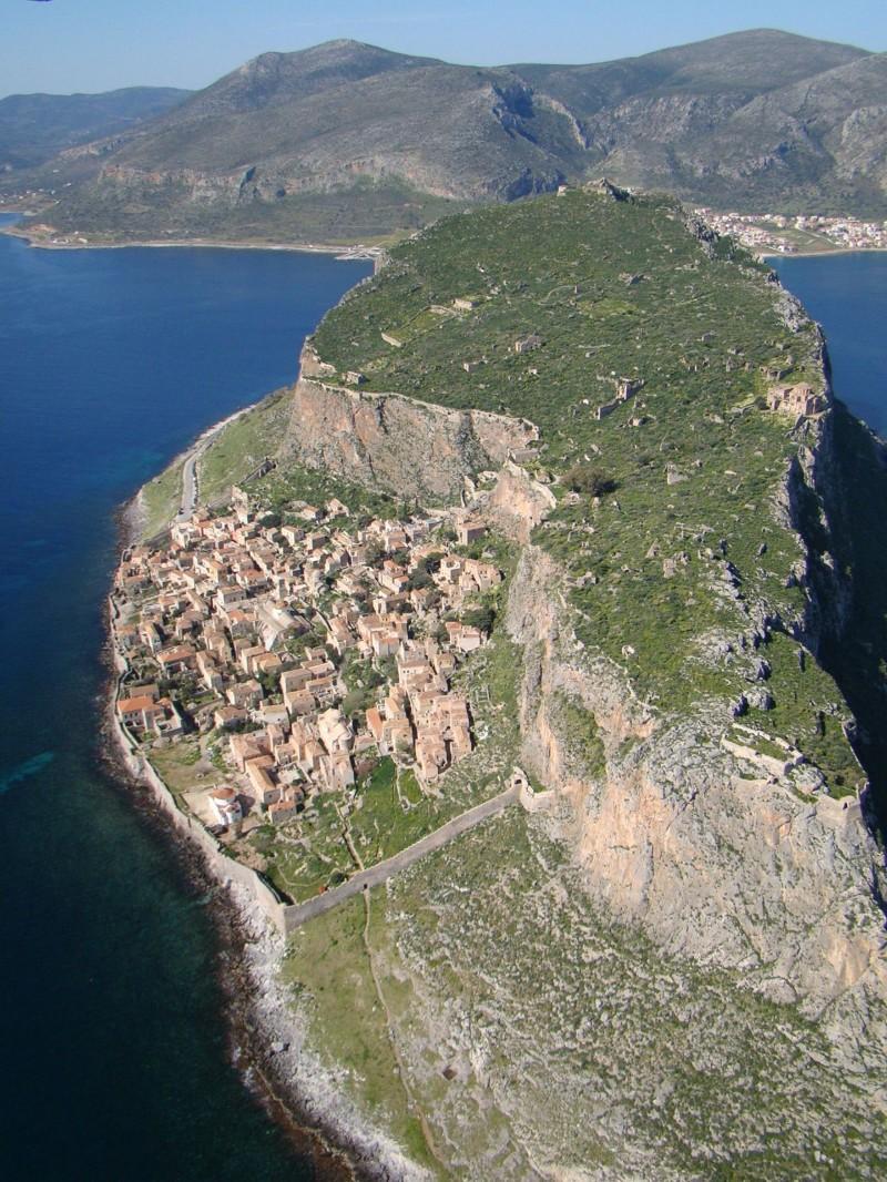 2. Монемвасия, Греция. деревни, мир, невидимки, природа, фото