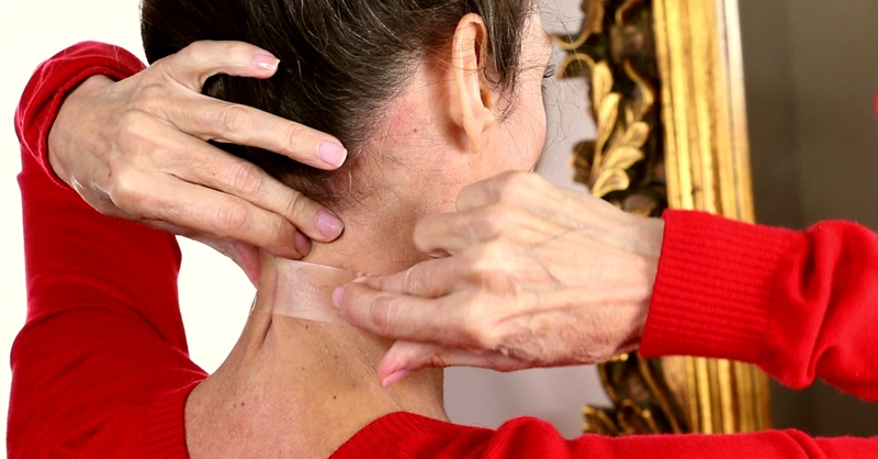 подтянуть кожу шеи в домашних условиях