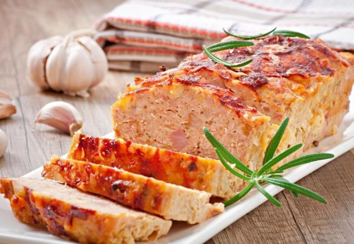 Мясной хлеб по-домашнему.  Фото: tutknow.ru.