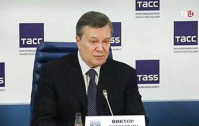 Янукович: Киев не хочет мирного разрешения конфликта в Донбассе