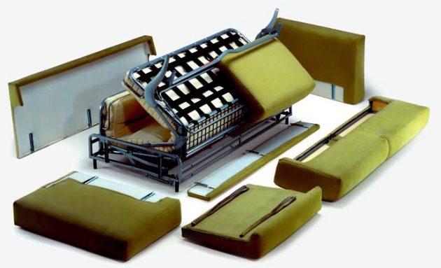 Разборка и ремонт дивана