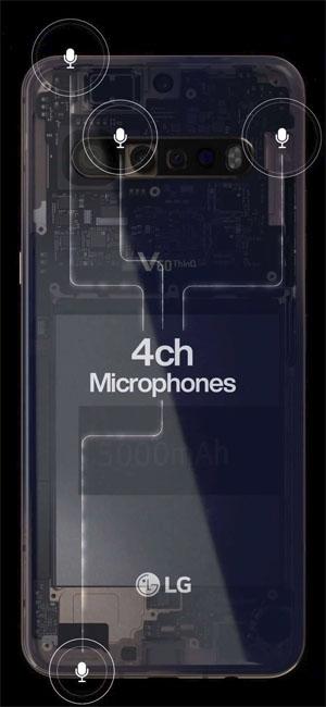 LG V60 ThinQ получит мощный аккумулятор и четыре задние камеры
