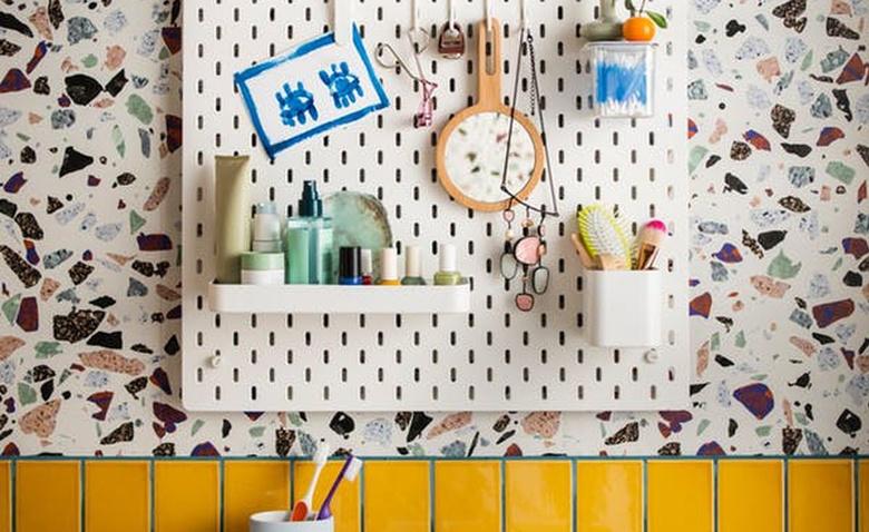 Хранение на пегборде: отличная идея для каждой комнаты