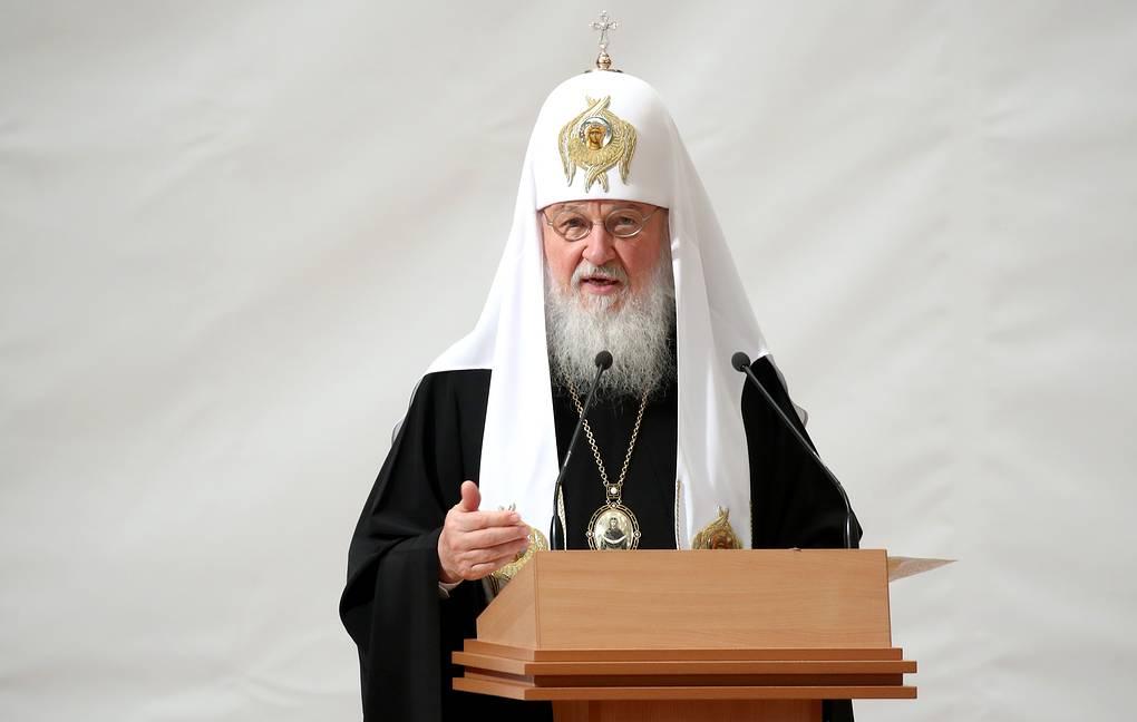 Патриарх Кирилл назвал протесты против храмов «экзотическим» явлением для России