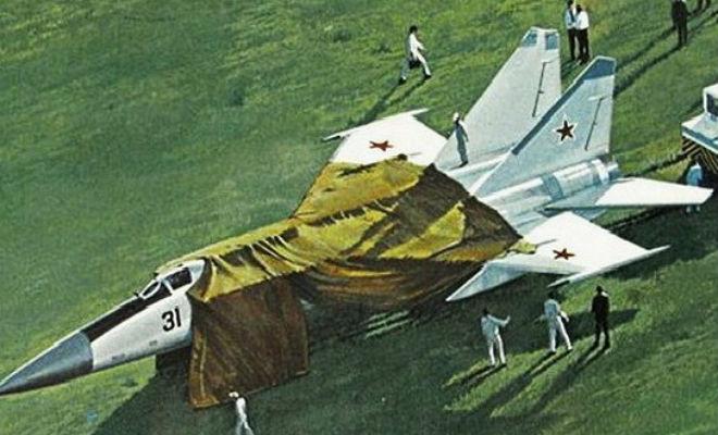 Побег из СССР: секретный истребитель улетел в США