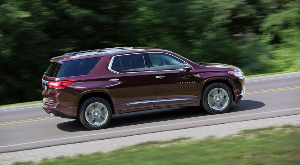 В Россию скоро приедет Chevrolet Traverse