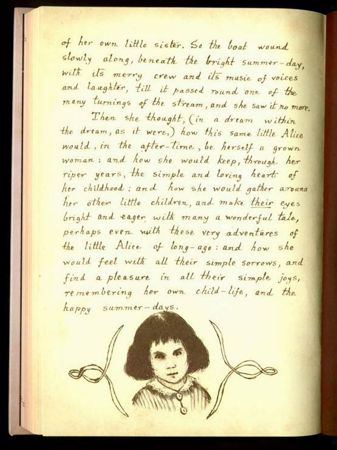 История жизни реальной Алисы из Страны чудес