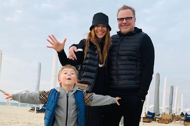 Встреча с друзьями и благодарность Богу: Наталья Подольская и Владимир Пресняков с сыном отдыхают в Израиле